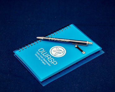 Merchandise - OWASP Notebook with Pen.jpg