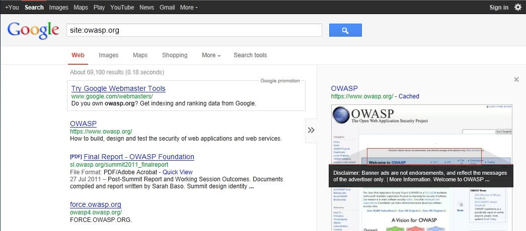 Google cache Operator Search Results Example 20121219.jpg