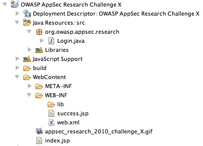Appsec research 2010 challenge X eclipse project.jpg
