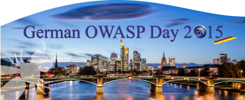 Logo 7th German OWASP Day, CC-BY-NC-SA, Picture by http://www.anneberingmeier.com