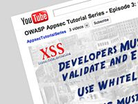 OWASP AppSec Tutorial Project Videos