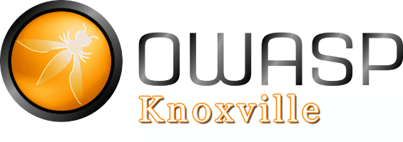 OWASP-Knoxville Logo with White Knoxville letters